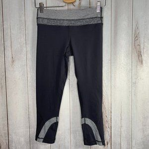 Lululemon Run Inspire Crop Leggings Gray 6